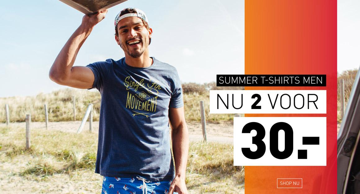 Summer shirts 2 voor 30,-