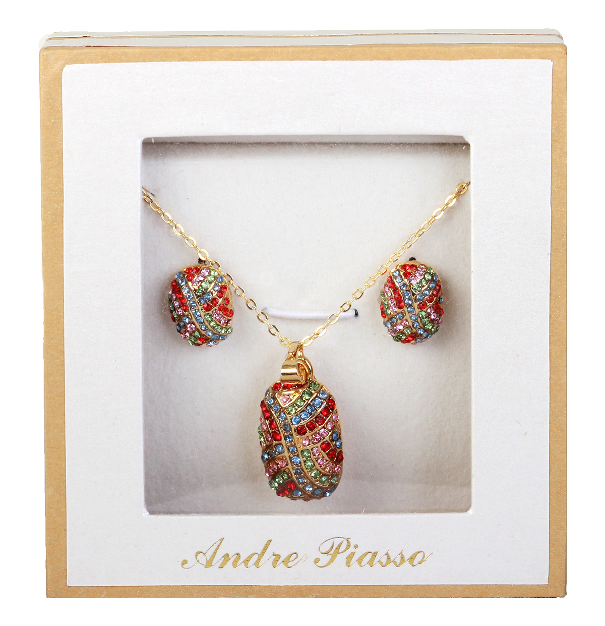 Andre Picasso Necklace and Earring gift set