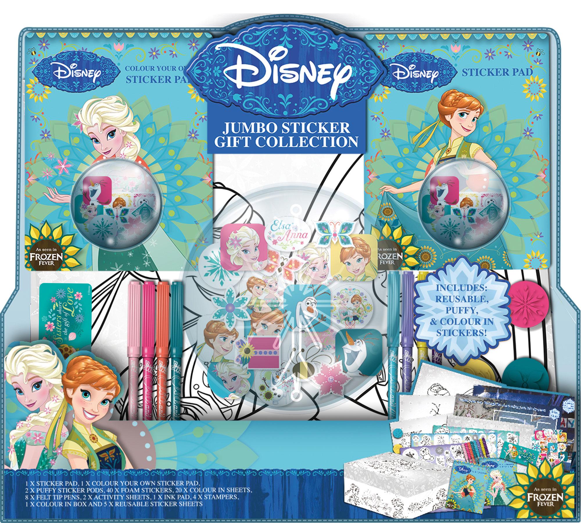Disney Frozen Jumbo Sticker Gift Collection